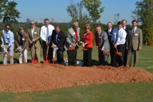 NC State University Carol Johnson Poole Clubhouse Groundbreaking