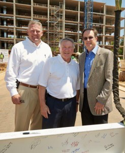 Building Q Topping Out Ceremony