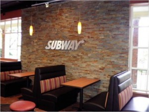 Wake Forest University Subway Restaurant