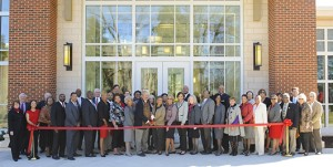 WSSU Hill Hall Ribbon Cutting